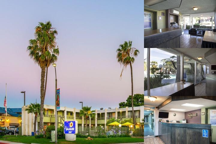 Vagabond Inn San Diego Airport Marina photo collage