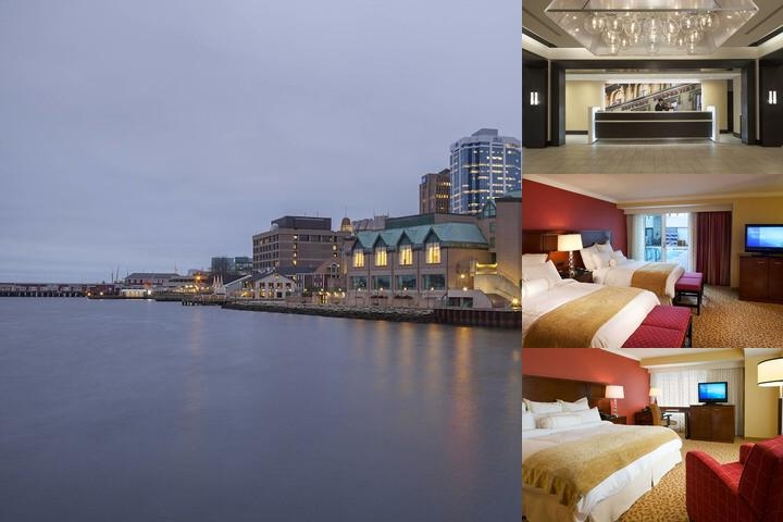 Halifax Marriott Harboufront photo collage