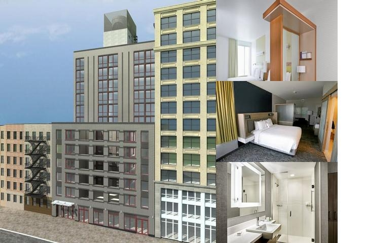 Springhill Suites New York Midtown / Park Ave photo collage