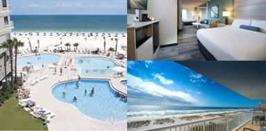 Springhill Suites Pensacola Beach photo collage