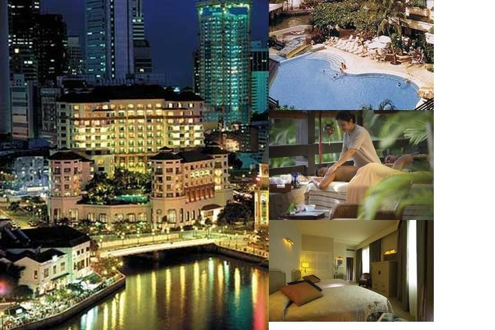 Swissotel Merchant Court Singapore photo collage