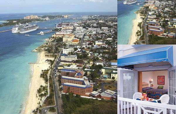 Nassau Palm Hotel photo collage