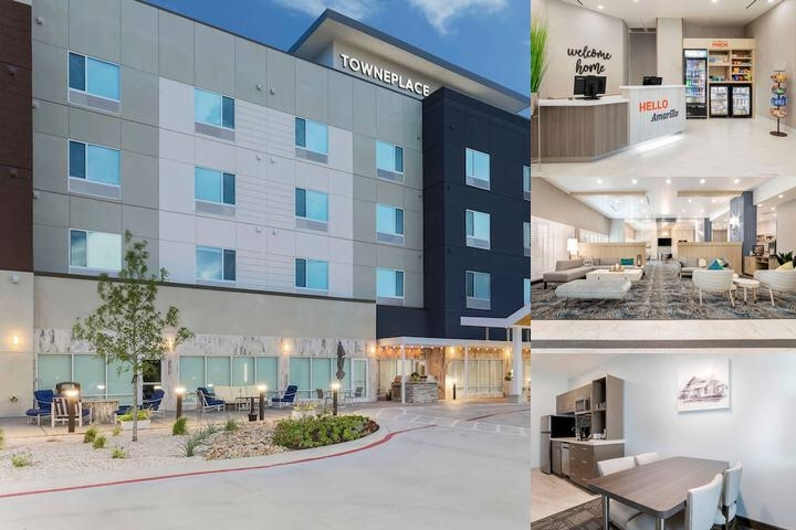 Towneplace Suites by Marriott Amarillo West / Medical Center photo collage