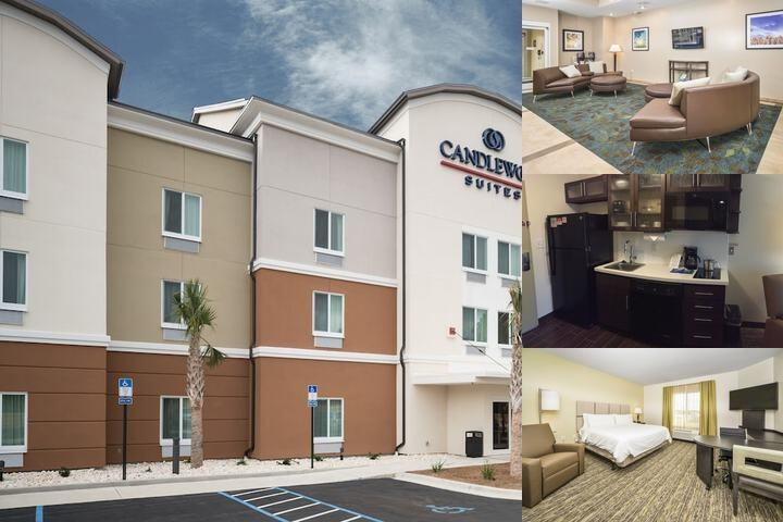 Candlewood Suites Fort Walton Beach Hurlburt Area photo collage