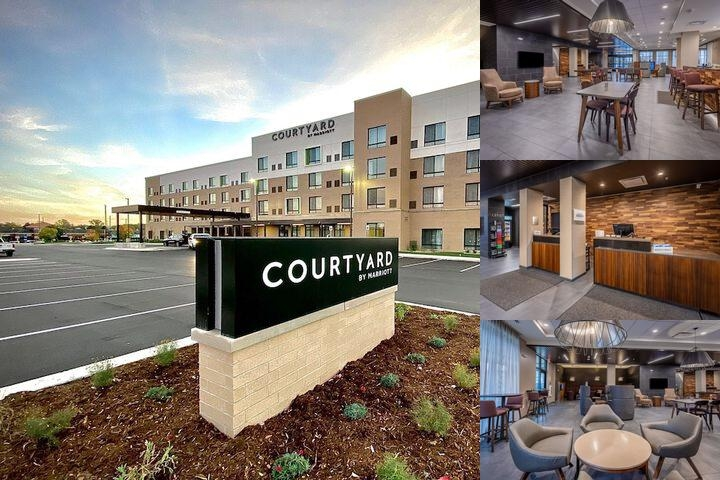 Courtyard by Marriott East Lansing Okemos photo collage
