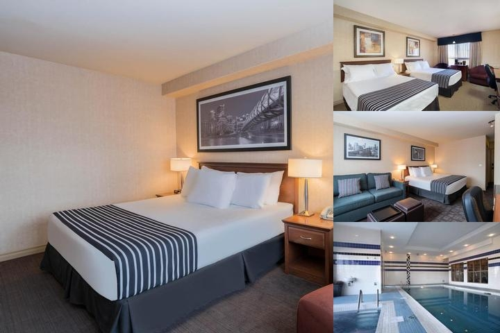 Sandman Hotel Calgary Airport photo collage
