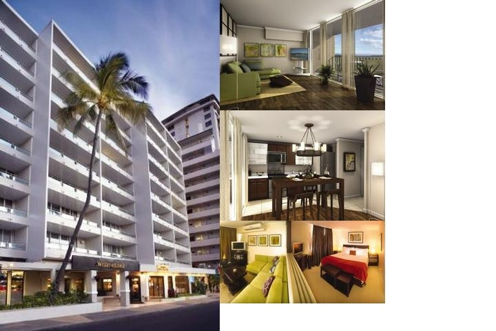 Outrigger Regency on Beachwalk photo collage