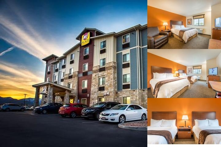 My Place Hotel photo collage