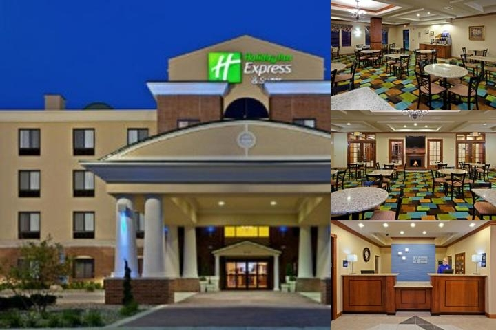 Holiday Inn Express & Suites Anderson photo collage