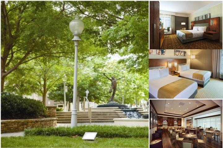 Hilton Garden Inn Atlanta Buckhead photo collage