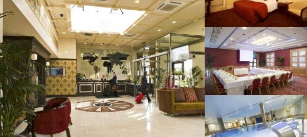 The Regency Hotel Dublin City photo collage