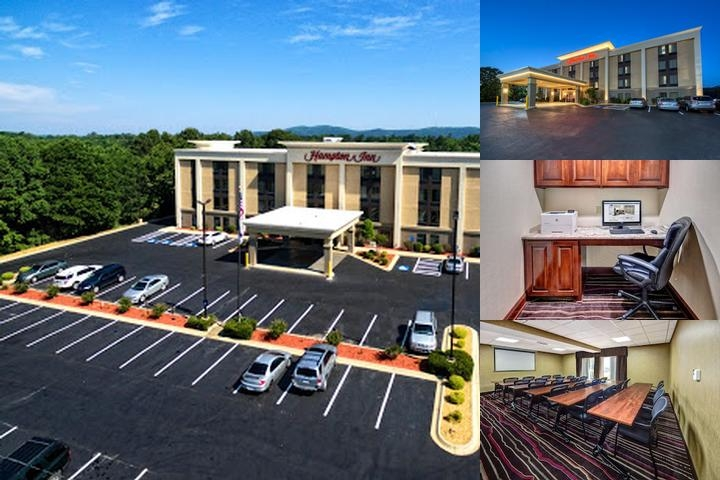 Hampton by Hilton Hot Springs photo collage