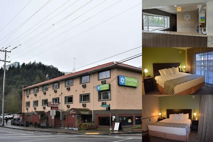 SureStay Hotel by Best Western Portland City Center photo collage