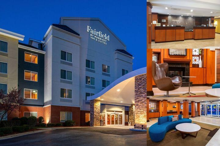Fairfield Inn & Suites Greensboro Wendover photo collage