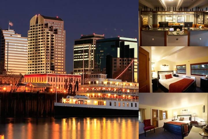 The Delta King Hotel photo collage
