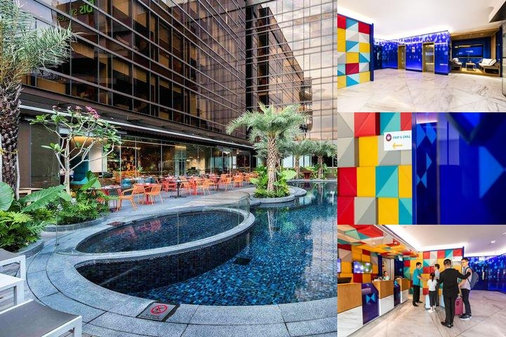 Ibis Styles Singapore on Macpherson photo collage