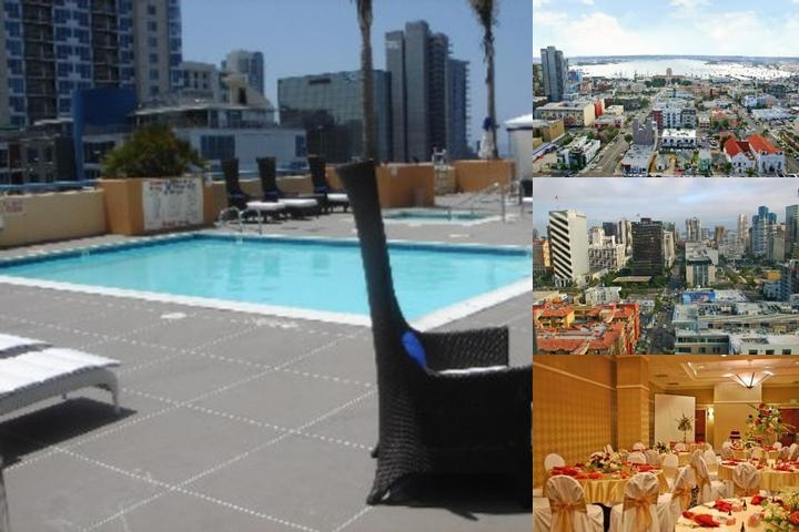 Doubletree by Hilton San Diego Downtown photo collage