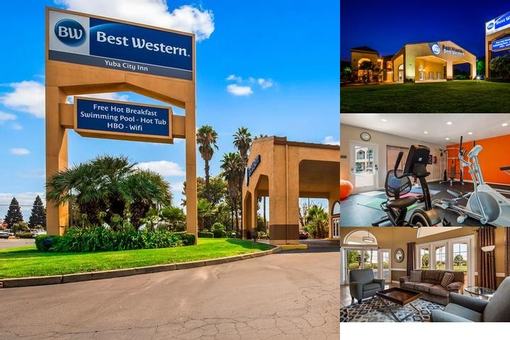Best Western Yuba City Inn photo collage