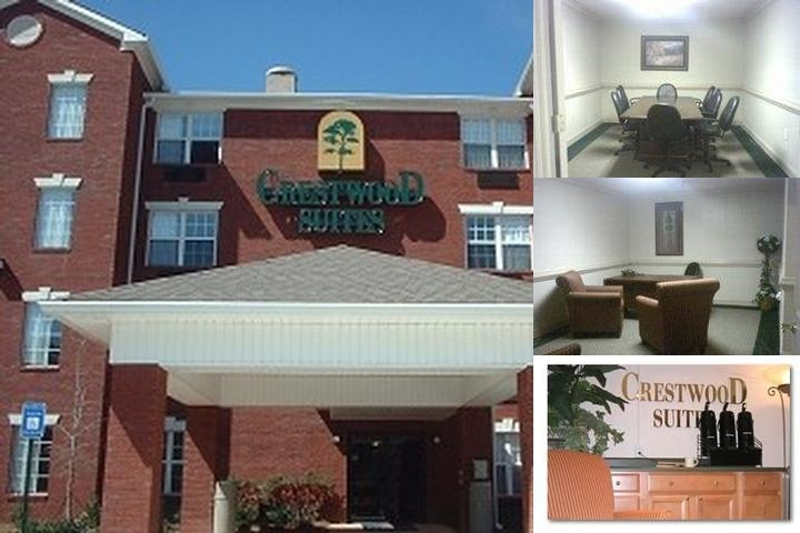 Crestwood Suites / Sun Suites / Jameson Inn / Slee photo collage