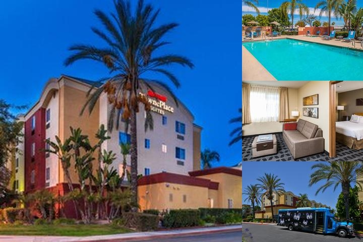 Towneplace Suites by Marriott Anaheim Maingate Near Angel Stadium photo collage