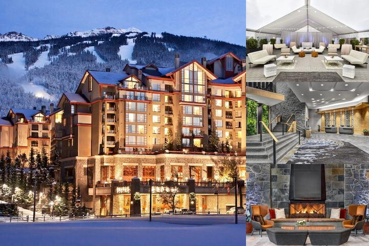 The Westin Resort & Spa Whistler photo collage