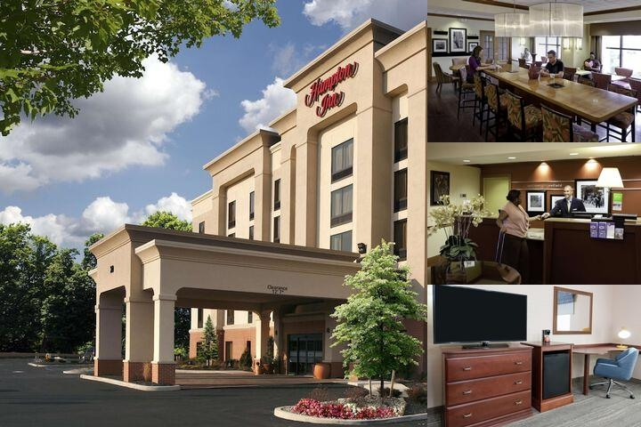 Hampton Inn Springfield South Enfield Ct photo collage