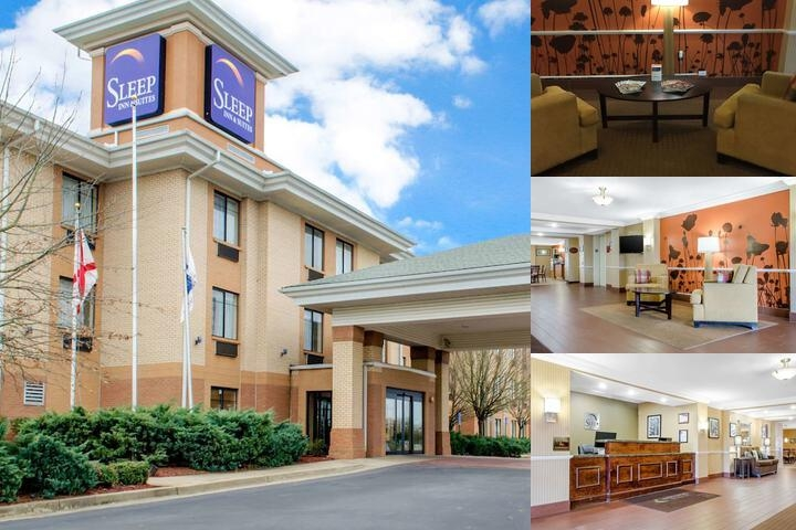 Sleep Inn & Suites East Chase photo collage