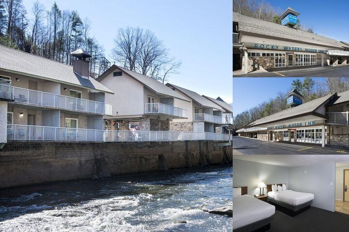 Rocky Waters Motor Inn photo collage
