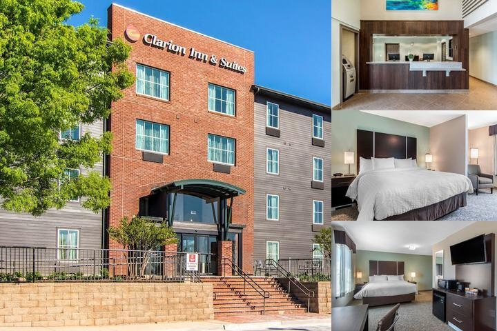 Clarion Inn & Suites Atlanta Downtown photo collage