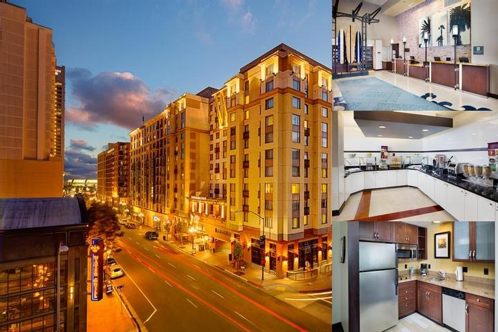 Residence Inn San Diego Downtown Gaslamp Quarter photo collage