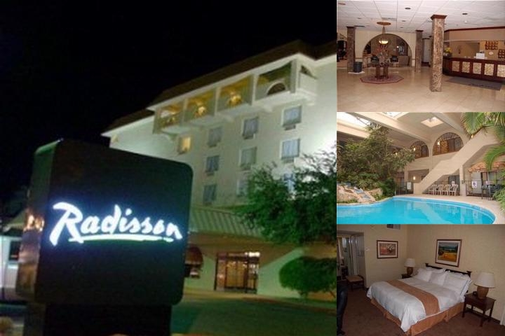 Radisson Lubbock photo collage