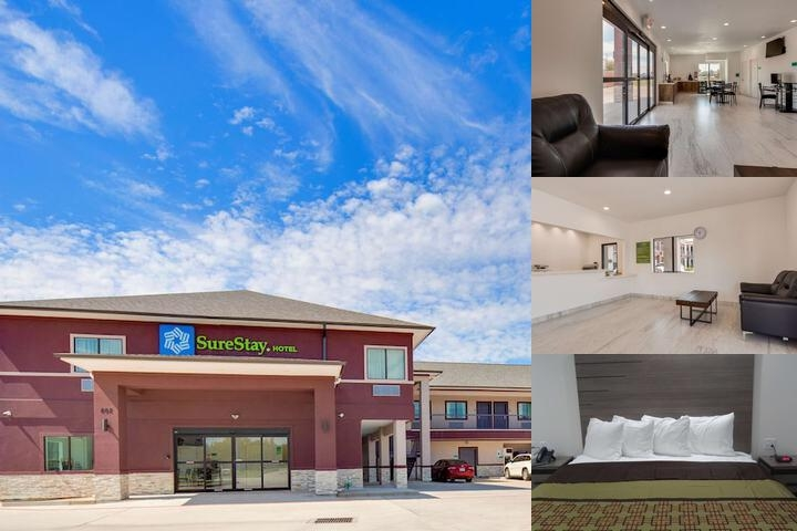 SureStay Hotel by Best Western Baytown photo collage