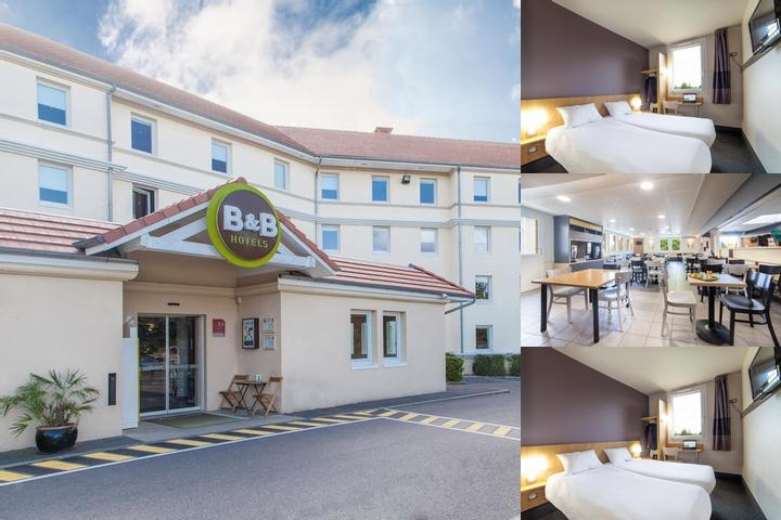 B & B Hotel Marne La Vallée Bussy Saint Georges photo collage