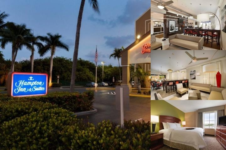 Hampton Inn & Suites Ft. Lauderdale Airport South Cruise Port photo collage