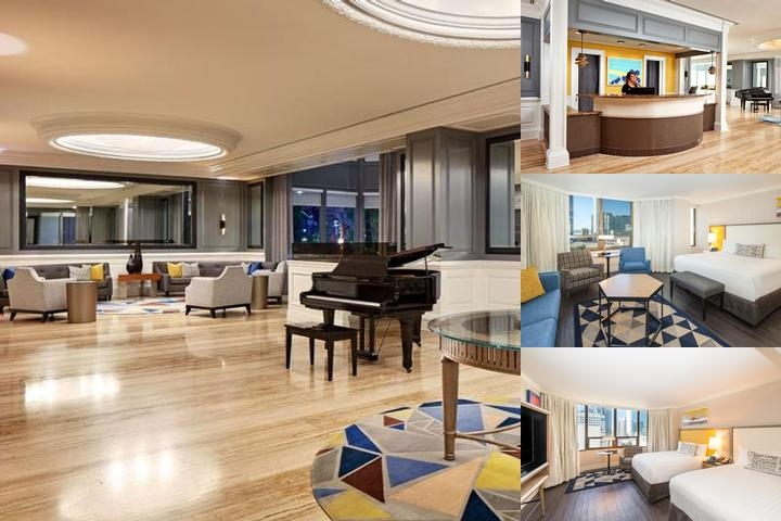 The Bristol Hotel photo collage