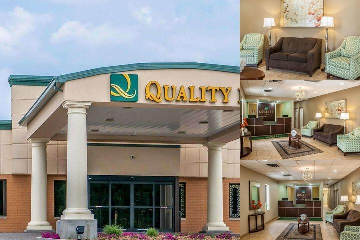 Quality Inn Huntingburg photo collage