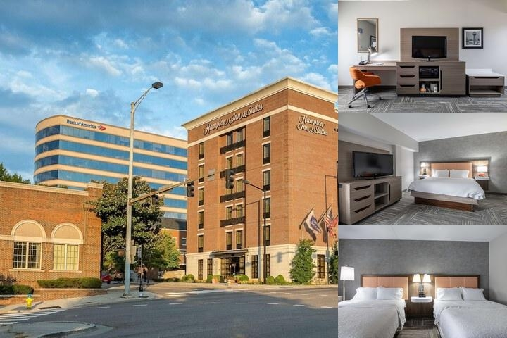 Hampton Inn & Suites Downtown Knoxville photo collage