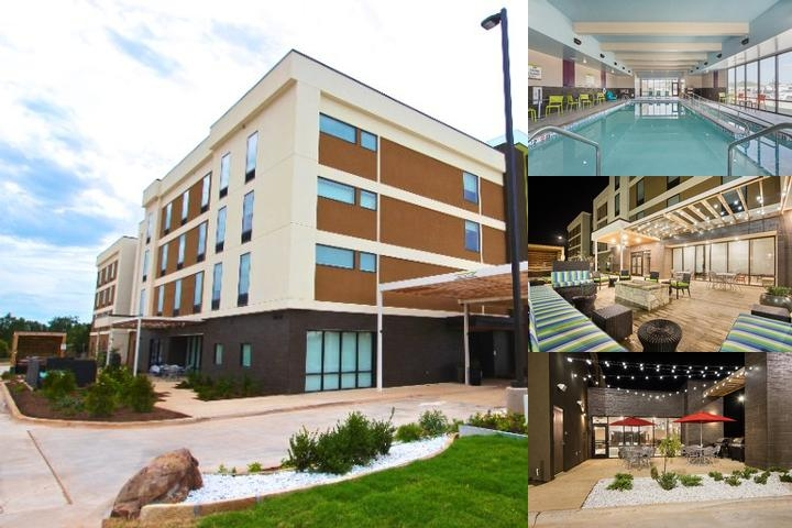 Home2 Suites by Hilton Oklahoma City Yukon photo collage