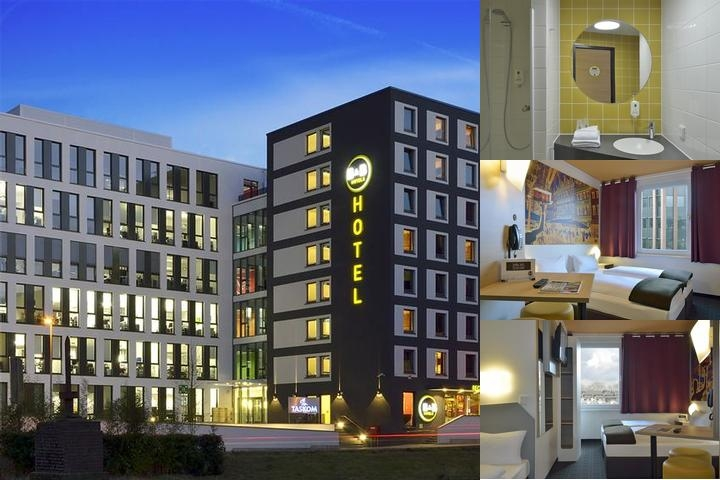 B & B Hotel Düsseldorf City photo collage