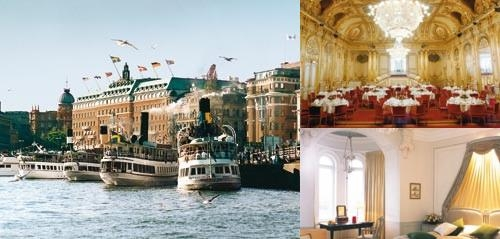 Grand Hôtel Stockholm photo collage