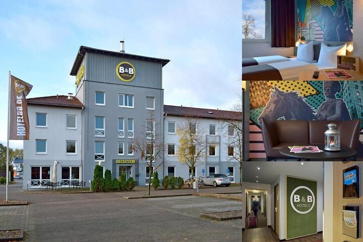 B & b Hotel Hannover Lahe photo collage