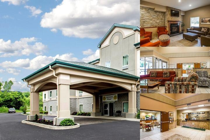 Quality Inn & Suites Fishkill photo collage