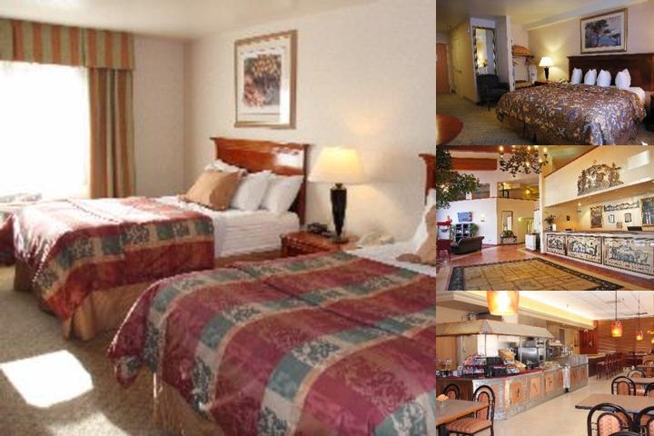 Best Western Plus High Sierra photo collage