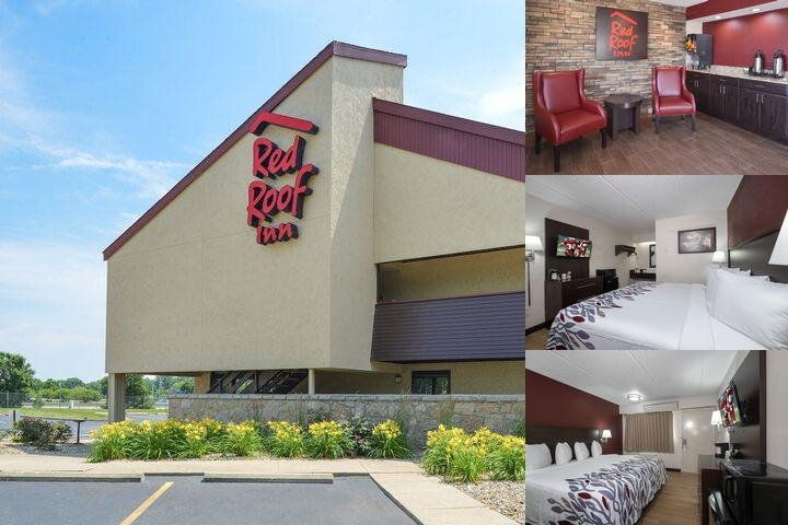 Red Roof Inn Champaign photo collage