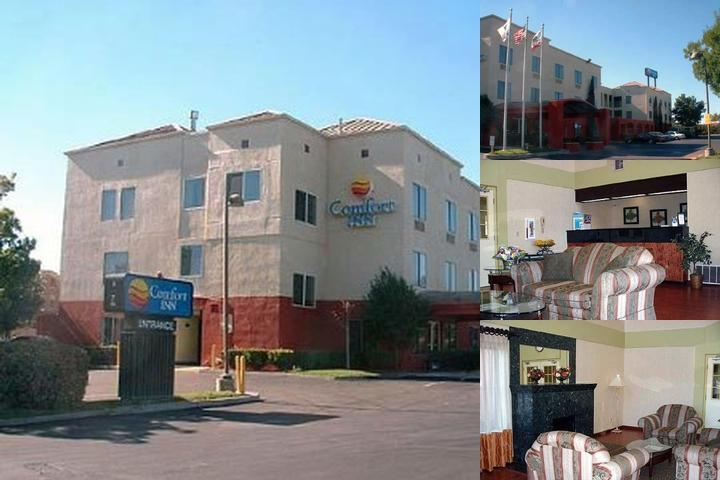 Comfort Inn Merced photo collage