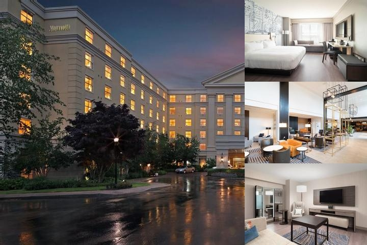 Mystic Marriott Hotel & Spa photo collage