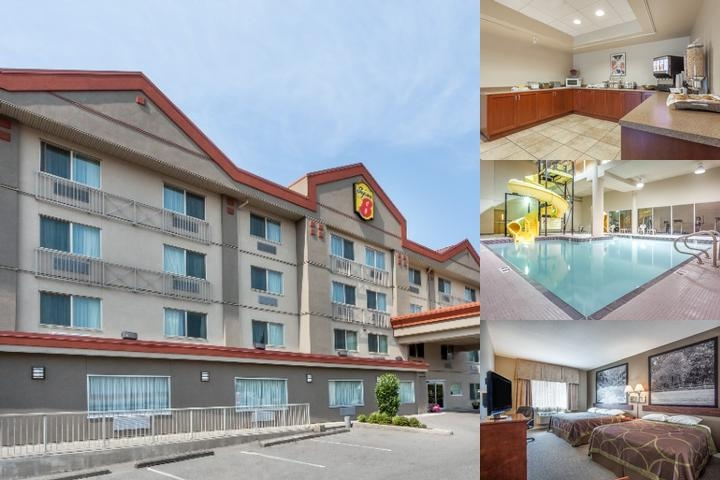 Abbotsford Super 8 Motel photo collage