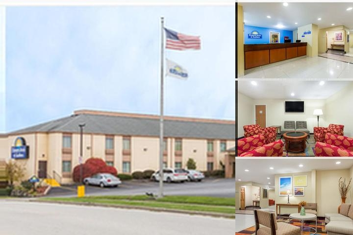 Days Inn & Suites by Wyndham Bloomington / Normal Il photo collage