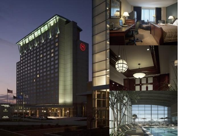 Sheraton Overland Park Hotel photo collage