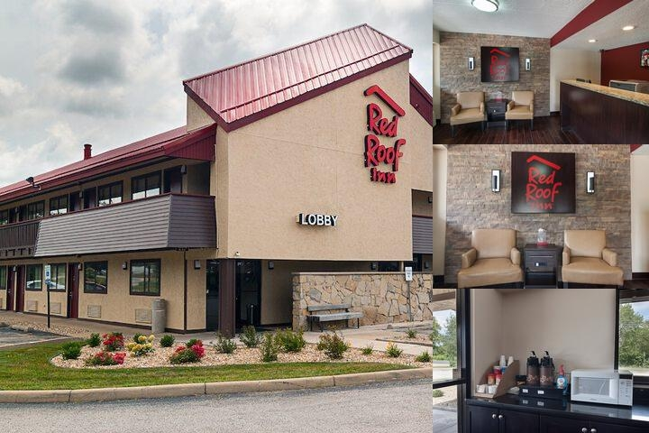 Red Roof Inn Springfield Il photo collage